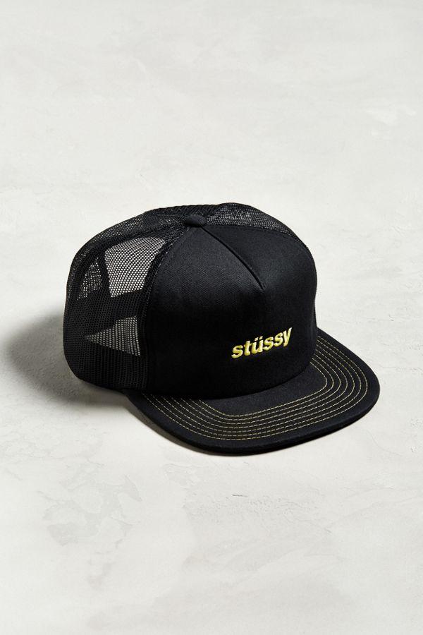 Stussy Twill Foam Trucker Hat  4d00d380710