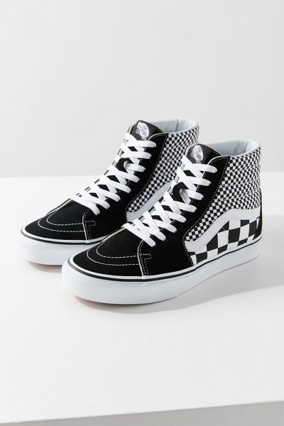 Vans Sk8 Hi Mix Checkerboard Sneaker Urban Outfitters
