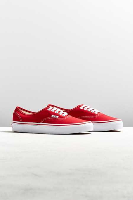 Vans Authentic Core Red Sneaker
