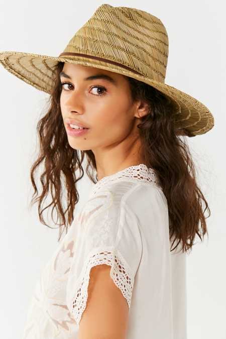Brixton Bells Straw Lifeguard Hat