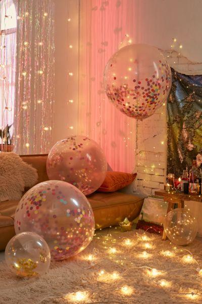 Ginger Ray Jumbo Rainbow Confetti Balloon Set Urban