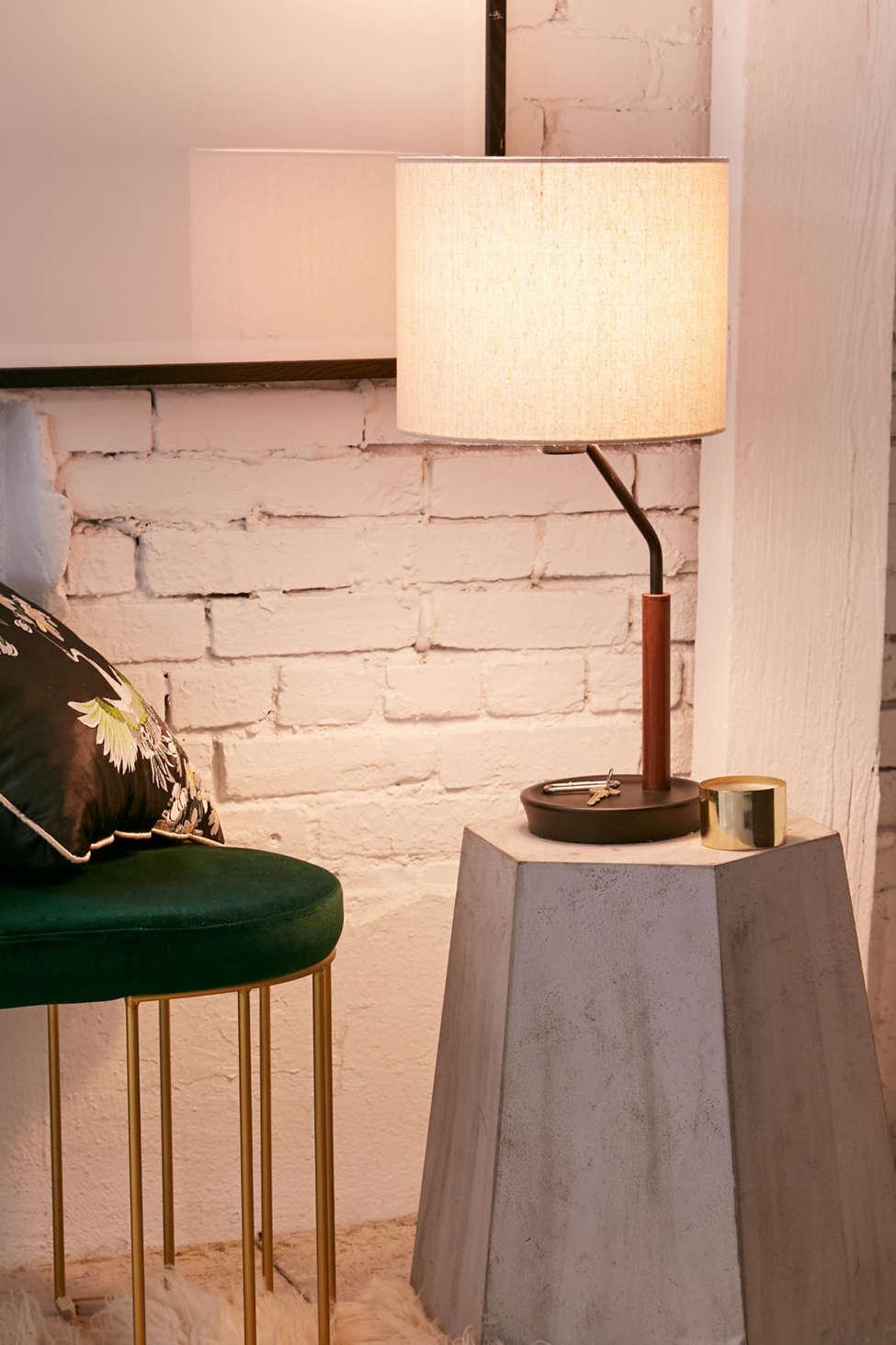 Slide View: 1: Sloan Storage Table Lamp