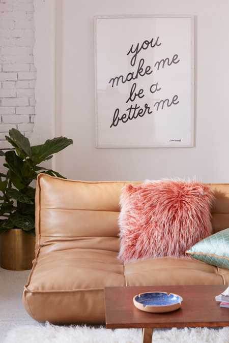Jean Andre You Make Me Be A Better Me Art Print. Wall Decals   Art Prints   Urban Outfitters