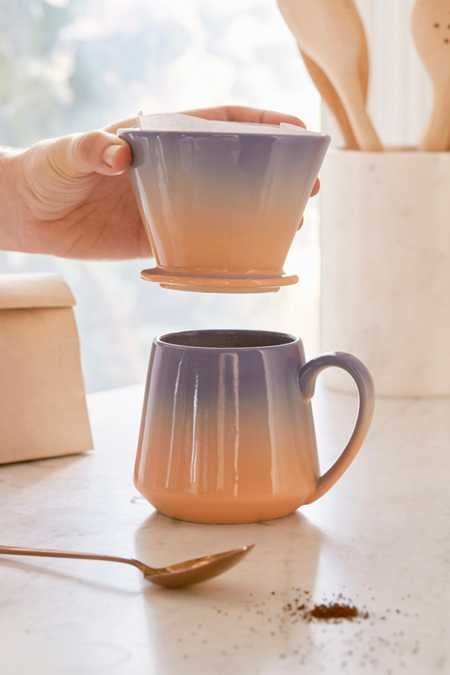 Pour-Over Coffee Mug Set