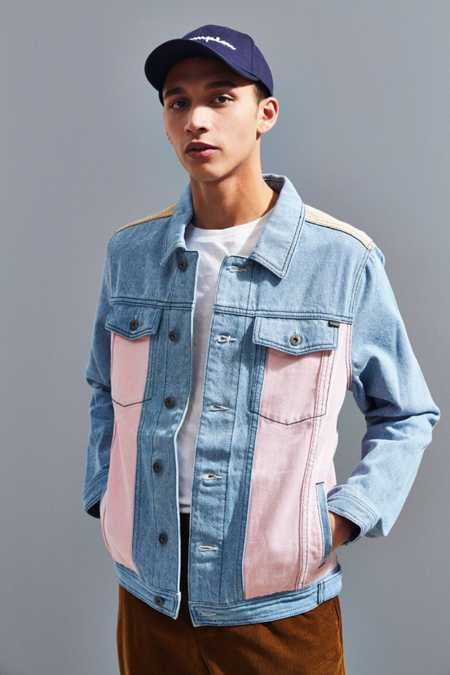 Barney Cools B. Rigid Denim Trucker Jacket