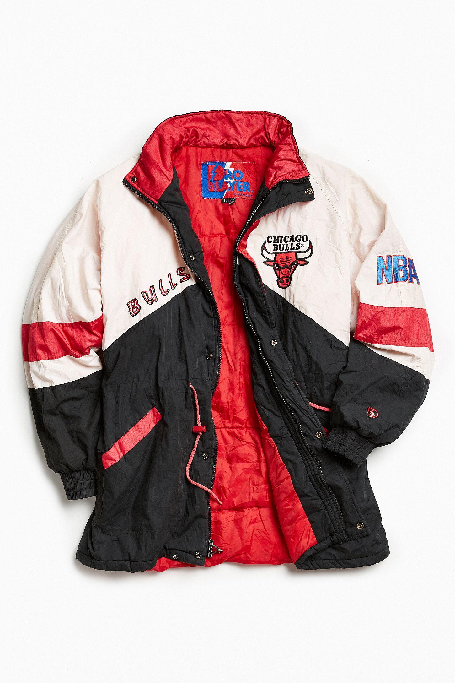 Vintage Pro Player Chicago Bulls Full-Zip Jacket  70afab04f989
