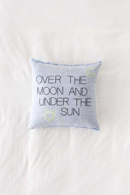 Amber Ibarreche X UO Over The Moon Throw Pillow