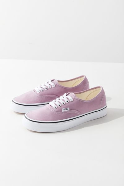 Vans Authentic Lavender Sneaker - Lavender 3.5 at Urban Outfitters