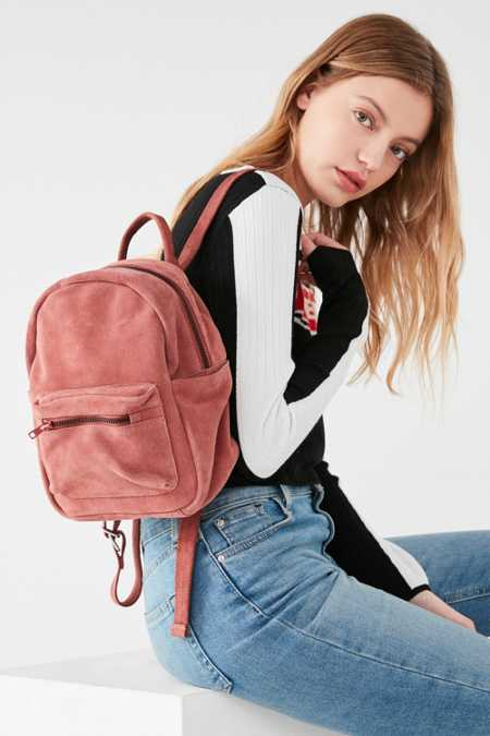 Mini Classic Suede Backpack