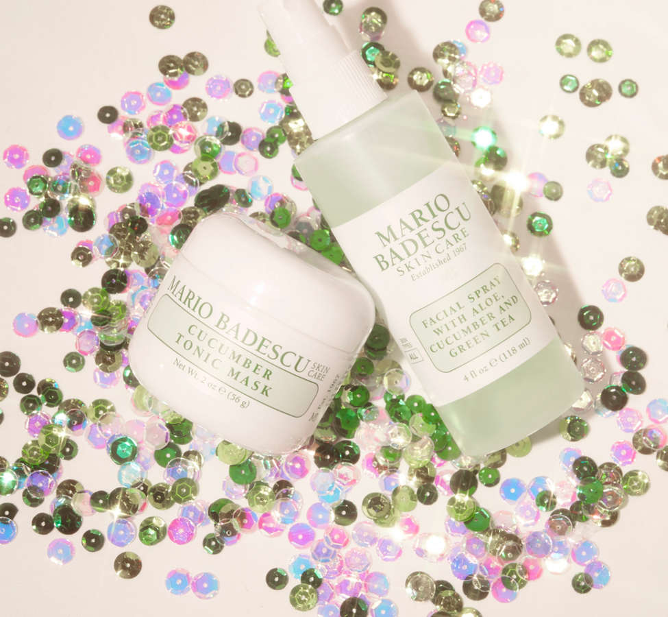 Slide View: 1: Mario Badescu Mask + Mist Duo Set