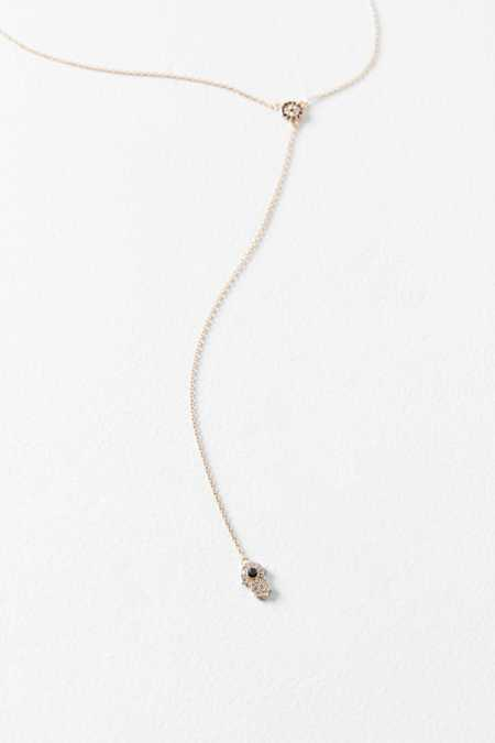Evil Eye Lariat Necklace