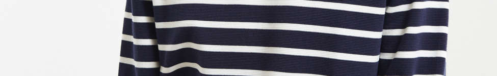 Thumbnail View 1: Lacoste Striped Ottoman Long Sleeve Tee