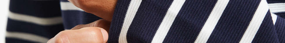 Thumbnail View 2: Lacoste Striped Ottoman Long Sleeve Tee