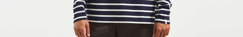 Thumbnail View 6: Lacoste Striped Ottoman Long Sleeve Tee