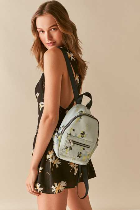 Satin Mini Backpack