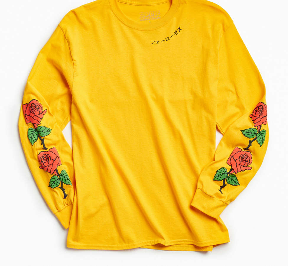 Slide View: 1: Four Roses Long Sleeve Tee