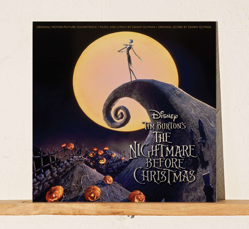 Slide View: 1: Various Artists - The Nightmare Before Christmas Original Soundtrack 2XLP