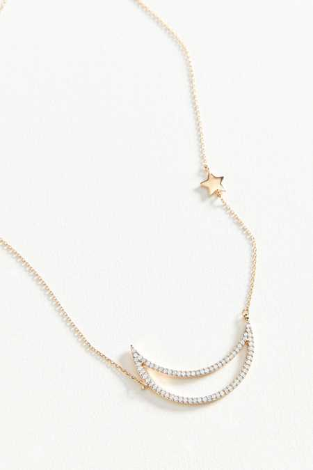 Crescent Moon Delicate Necklace