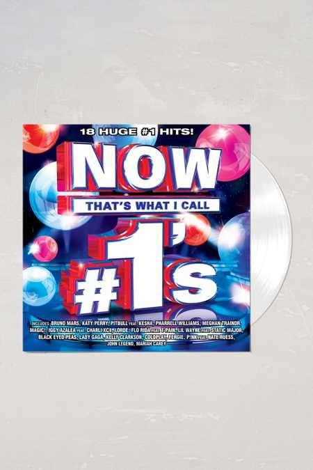Various Artists - NOW #1s Limited 2XLP