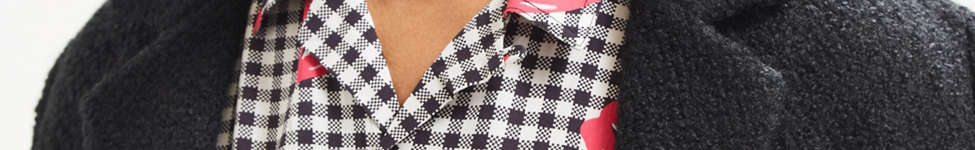 Thumbnail View 2: UO Liam Pop Gingham Rayon Short Sleeve Button-Down Shirt