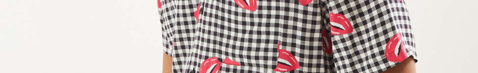 Thumbnail View 3: UO Liam Pop Gingham Rayon Short Sleeve Button-Down Shirt
