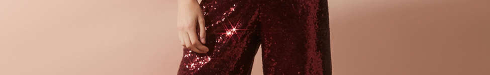 Thumbnail View 5: Motel Plunging Sequin Jumpsuit