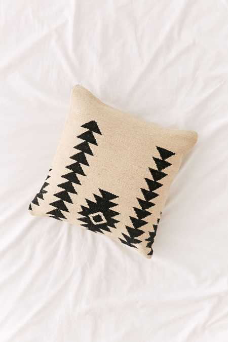 Southwestern Minimal Kilim Throw Pillow