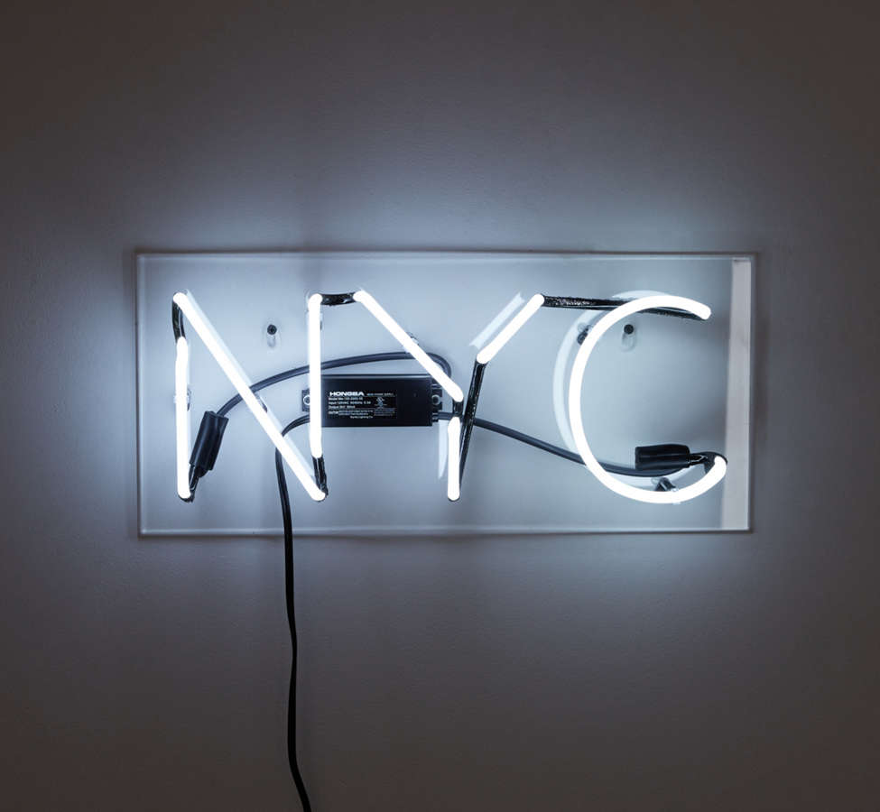 Slide View: 2: NYC Neon Sign