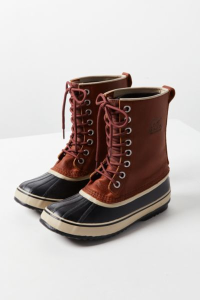 Sorel 1964 Premium Leather Duck Boot - Brown 6 at Urban Outfitters