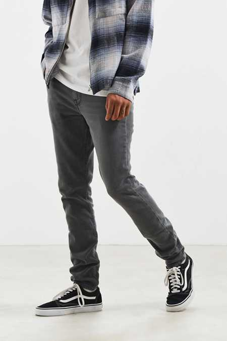 BDG Washed Black Skinny Jean