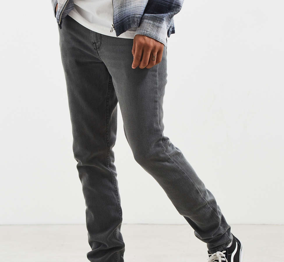Slide View: 1: BDG Washed Black Skinny Jean