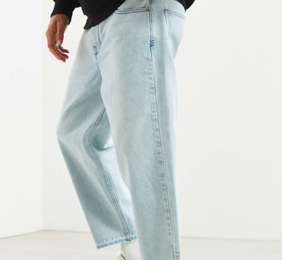 Slide View: 1: BDG Active Wash Straight Cropped Jean