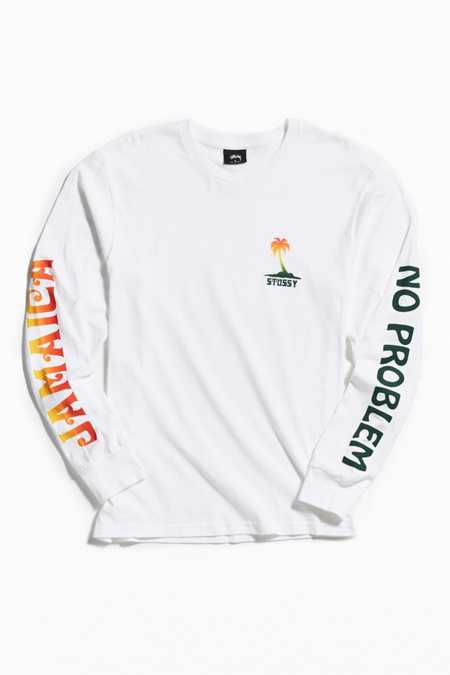 Stussy Jamaica No Problem Long Sleeve Tee
