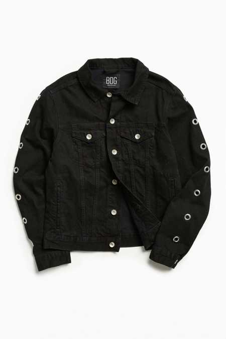 BDG Grommet Denim Trucker Jacket