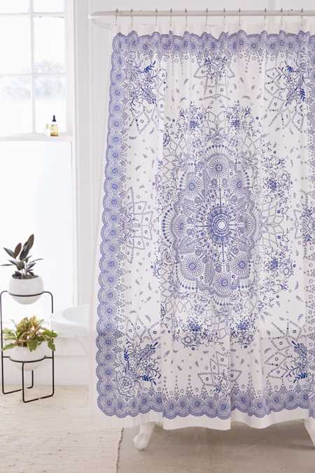 Emilia Medallion Shower Curtain