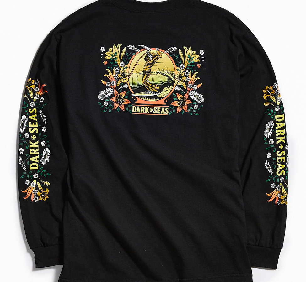 Slide View: 1: Dark Seas Memorial Long Sleeve Tee
