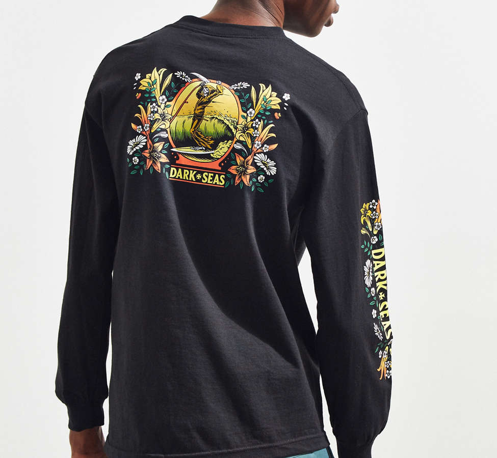 Slide View: 4: Dark Seas Memorial Long Sleeve Tee