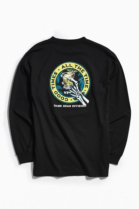 Dark Seas Lounge Time Long Sleeve Tee