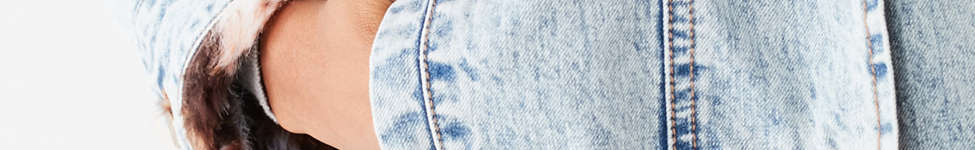 Thumbnail View 6: UO Faux Fur Lined Denim Trucker Jacket