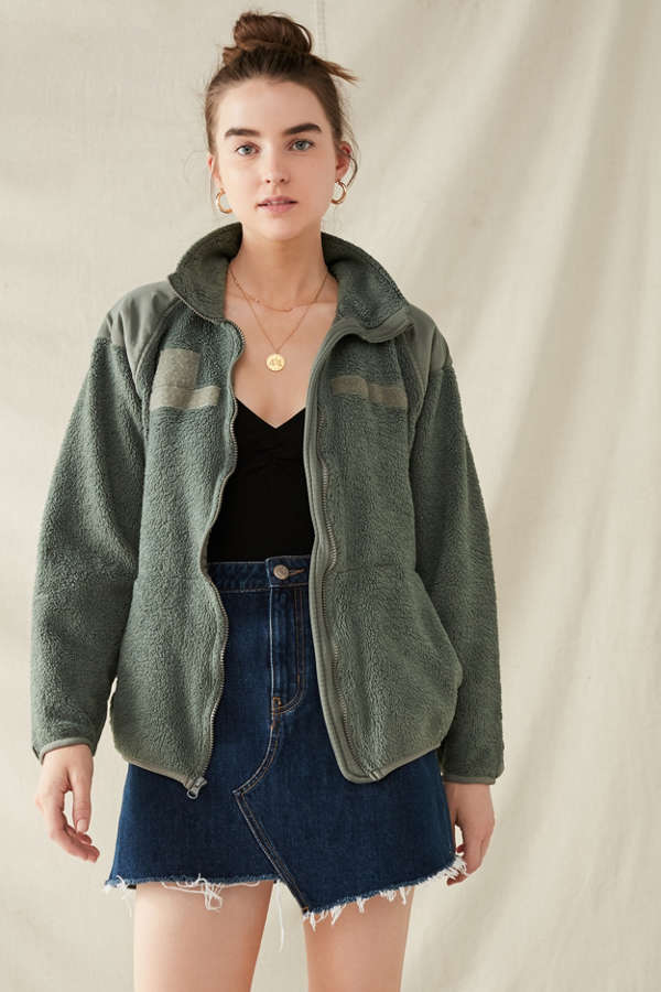 Vintage Surplus Cozy Fleece Jacket | Urban Outfitters