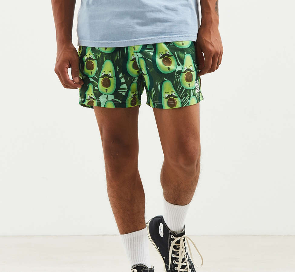 Slide View: 1: Costello Angry Avocado Swim Trunk