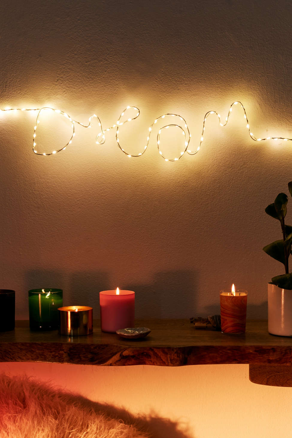 Make Your Own Fairy Light Sign Kit Urban Outfitters