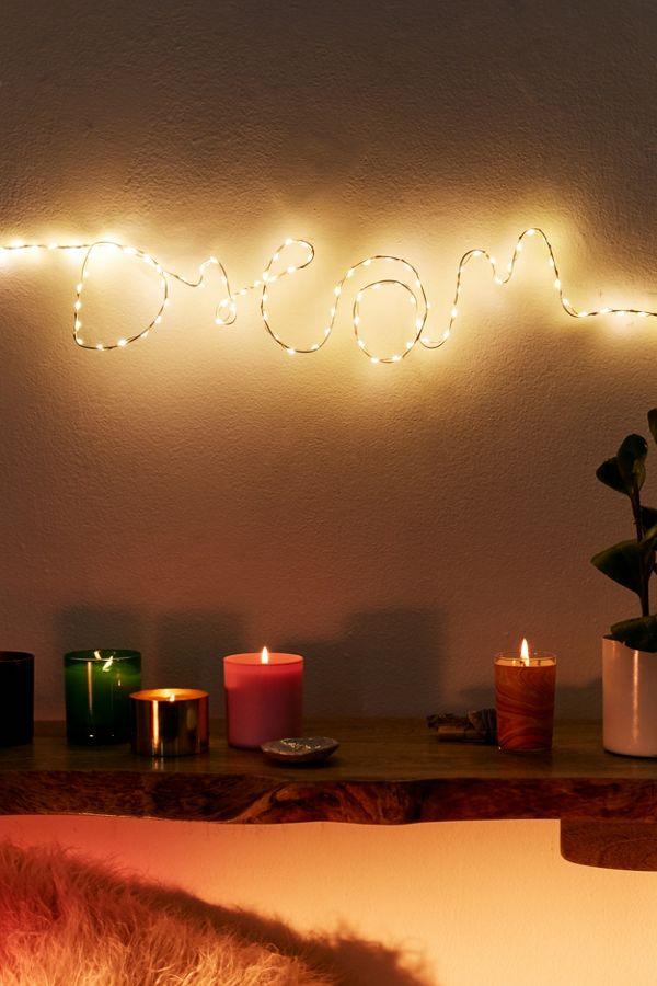 Make Your Own Fairy Light Sign Kit