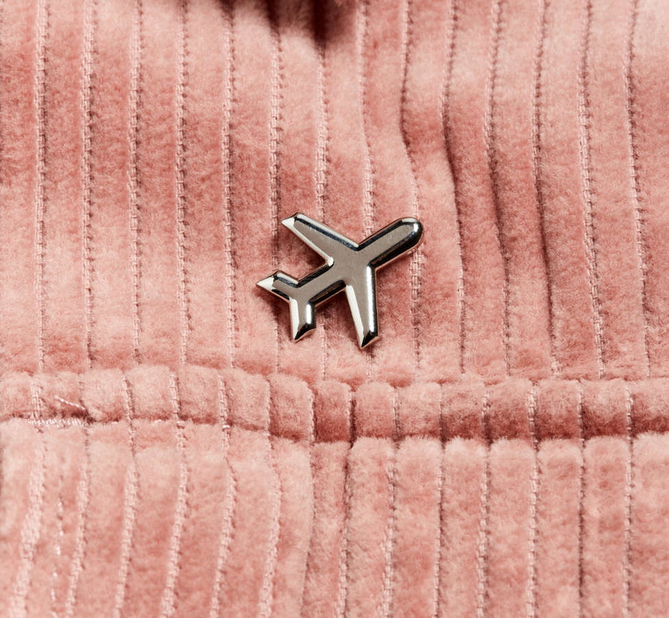 Slide View: 3: These Are Things Silver Airplane Pin