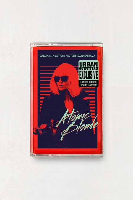 Various Artists - Atomic Blonde Original Motion Picture Soundtrack Exclusive Cassette Tape