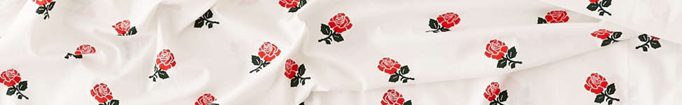 Thumbnail View 1: Chinatown Market For UO Roses Sheet Set