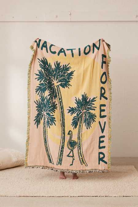 Calhoun & Co. X UO Vacation Forever Throw Blanket
