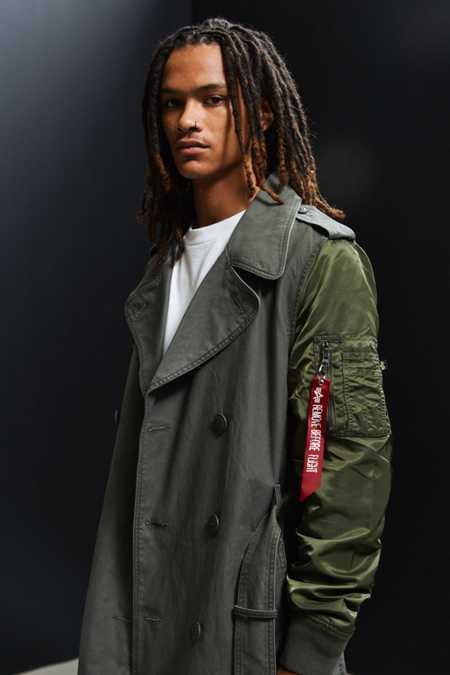 Alpha Industries Makinaw Trench Coat