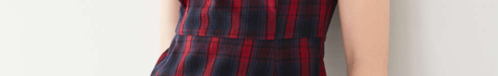 Thumbnail View 1: UO Plaid Hardware Mini Dress