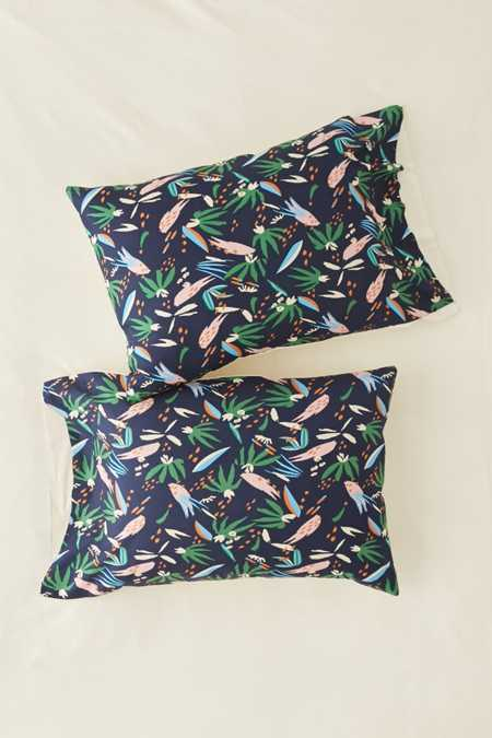 Slide View: 1: Holli Zollinger For Deny Adobo Jungle Pillowcase Set